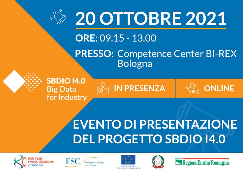 Save the Date evento SBDIO I4.0